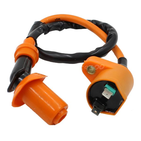 taotao ignition coil gy6 50 125 150cc spark plug wire. Black Bedroom Furniture Sets. Home Design Ideas