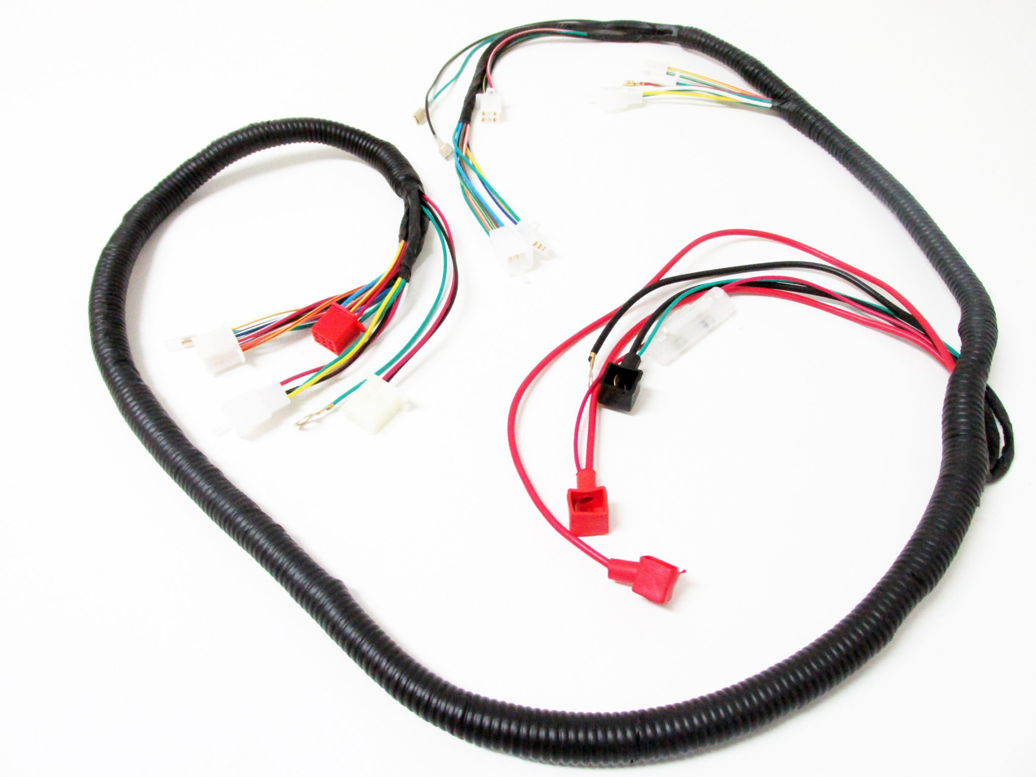 scooter electrical wire harness 150cc  125cc hotstreet Wiring Harness Ends wire harness 10