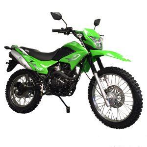 green 230cc street & trail bike - enduro