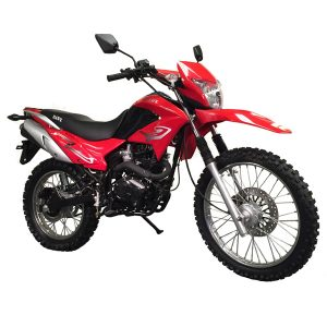 red 230cc Hawk Enduro Motocross Bike
