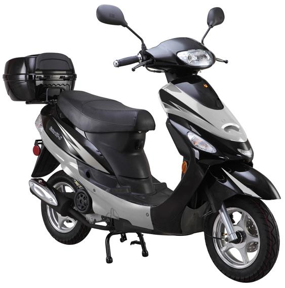 Black 50cc-scooter-Gator50S1