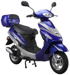 blue 50cc-scooter-Gator50S1