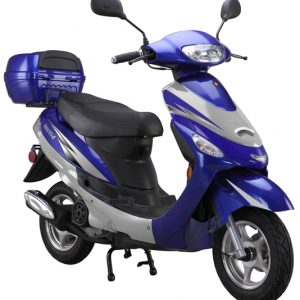 blue 50cc-scooter-Gator50S1