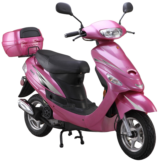 Pink 50cc-scooter-Gator50S1