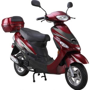 red 50cc-scooter-Gator50S1