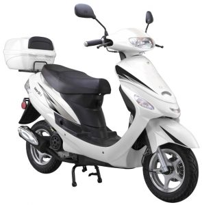 white 50cc-scooter-Gator50S1