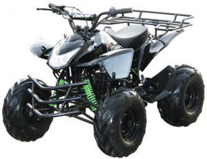 Black 125cc ATV 4 Wheeler