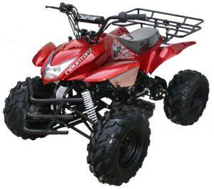 Red 125cc ATV 4 Wheeler