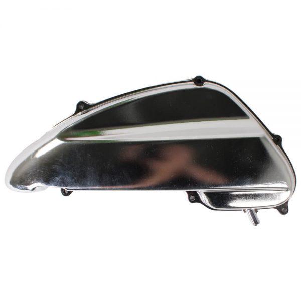 NCY Air Box Cover (Chrome Finish); Yamaha Vino 50