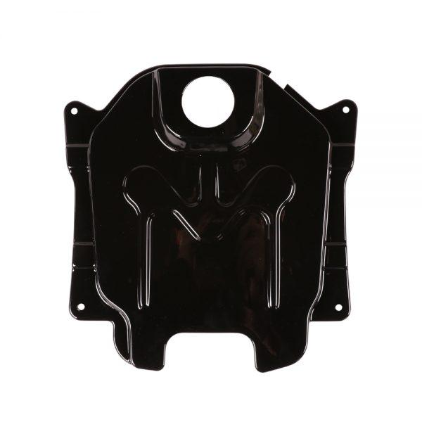 NCY Gas Tank Cover (Composite, Black); Honda Ruckus