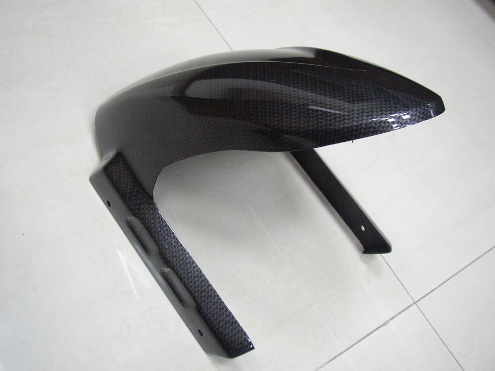 NCY Front Fender (Painted Carbon Fiber); Vento, Diamo, Tank