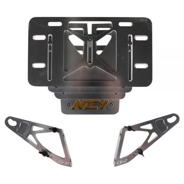 NCY License Plate Holder (Adjustable); Yamaha Vino 50