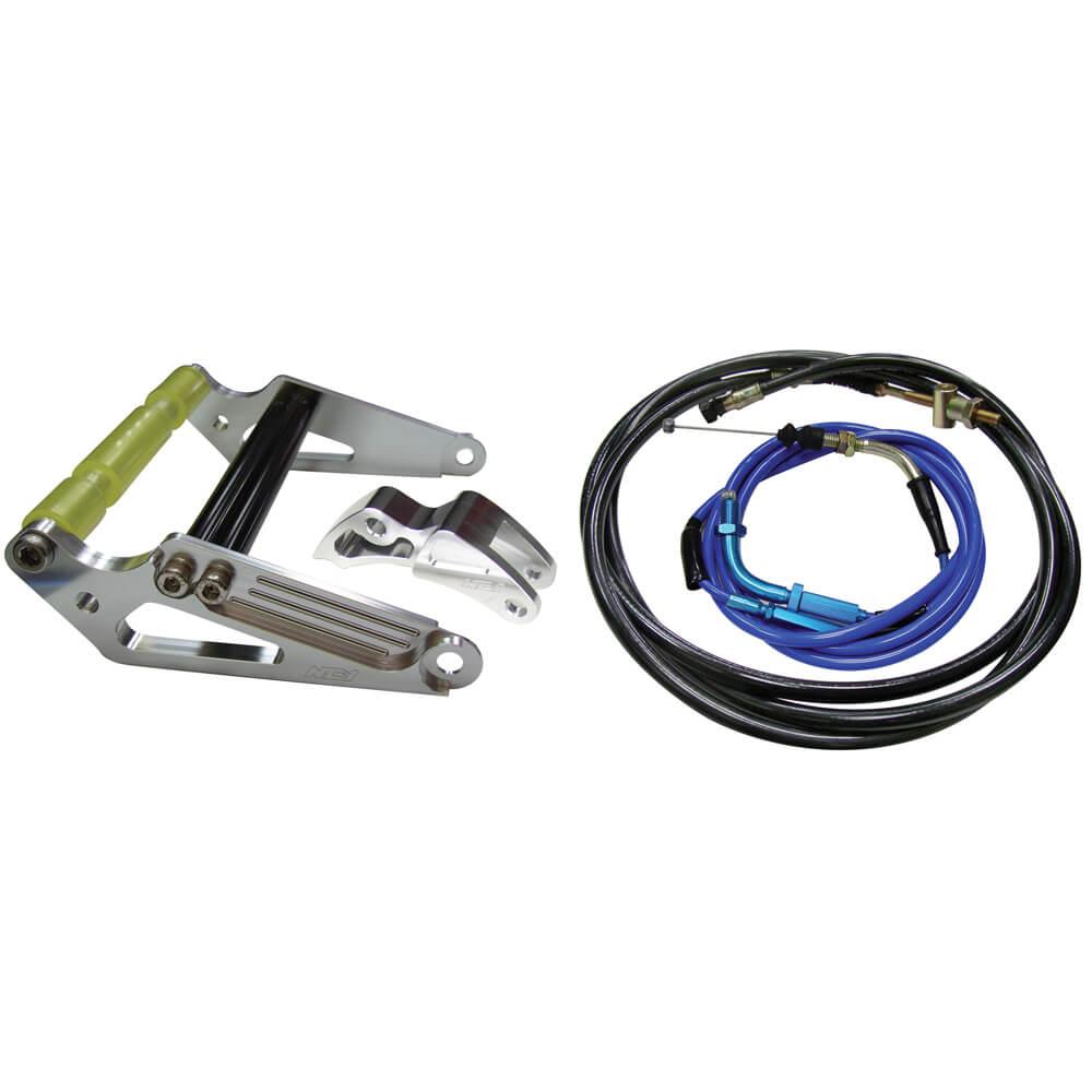 NCY Frame Extension (Billet Aluminum); Honda Ruckus