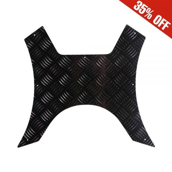 NCY Floor Board (Diamond Plate, Black); Genuine RoughHouse
