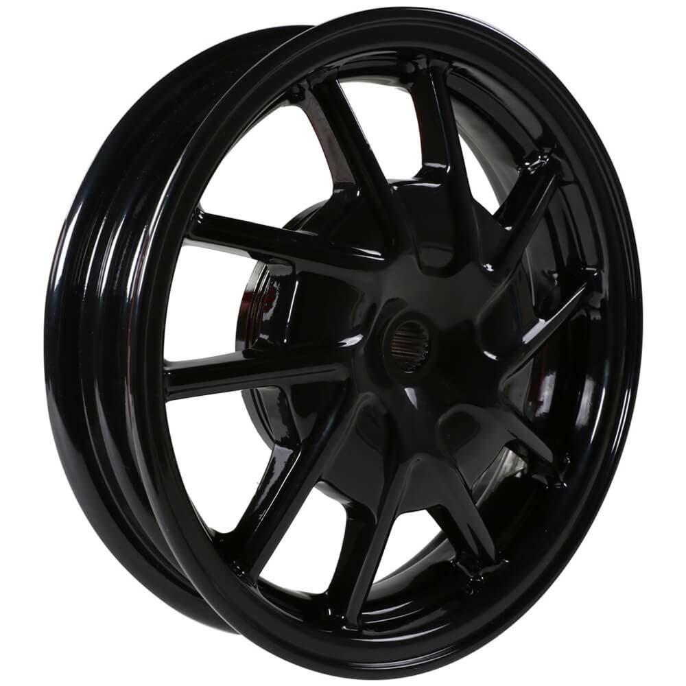 NCY Hustler Front Wheel (Black, 10 Spoke) ; Honda Dio, Sym D