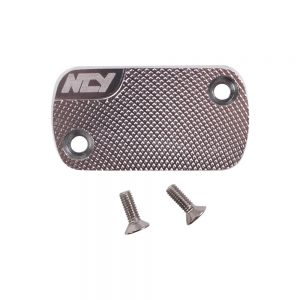 NCY Master Cylinder Cover (Silver); Honda-style