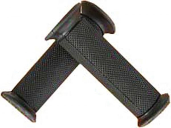 NCY Grip Set (Rubber, Black, Closed Ends); Universal
