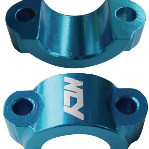 NCY Lever Brackets (Alloy, Blue); Universal