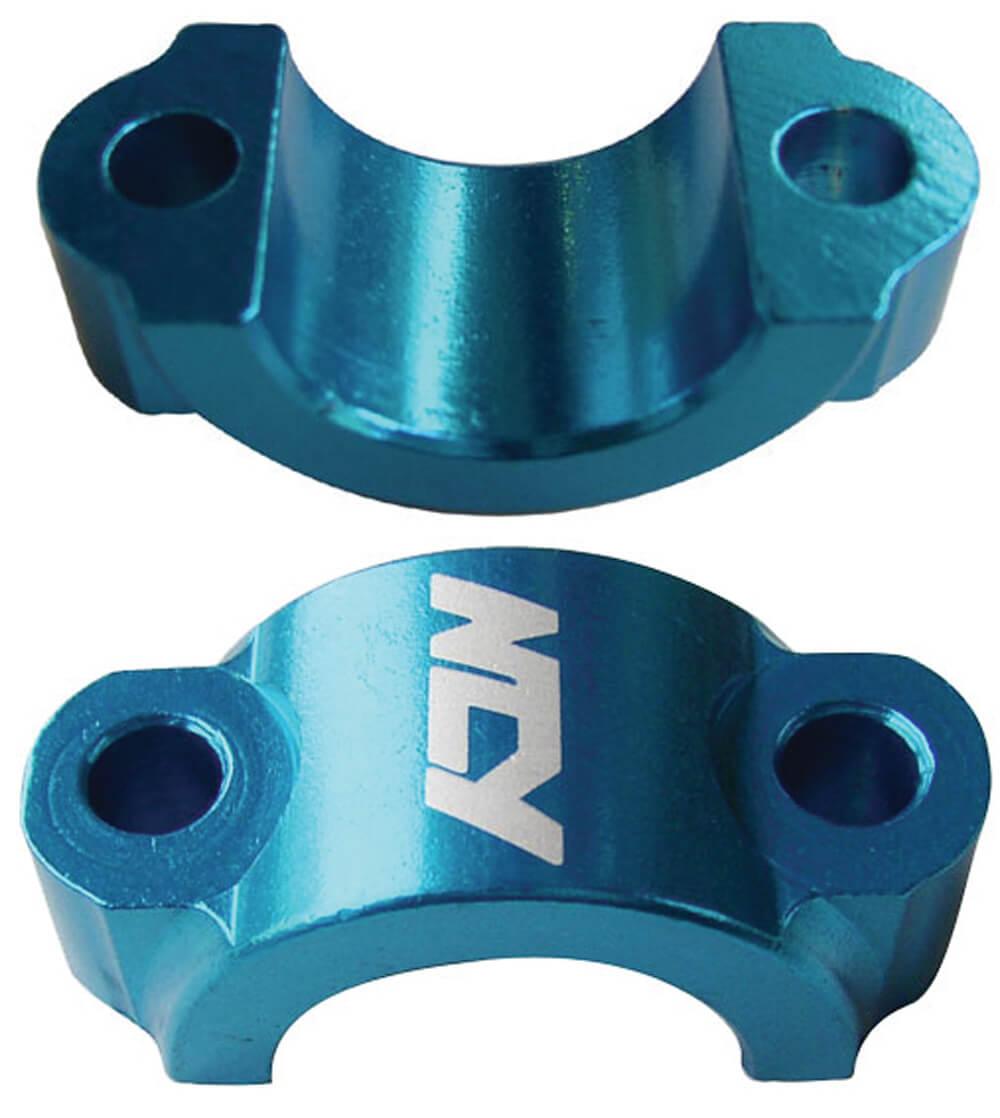 NCY Lever Brackets (Alloy, Blue); Universal