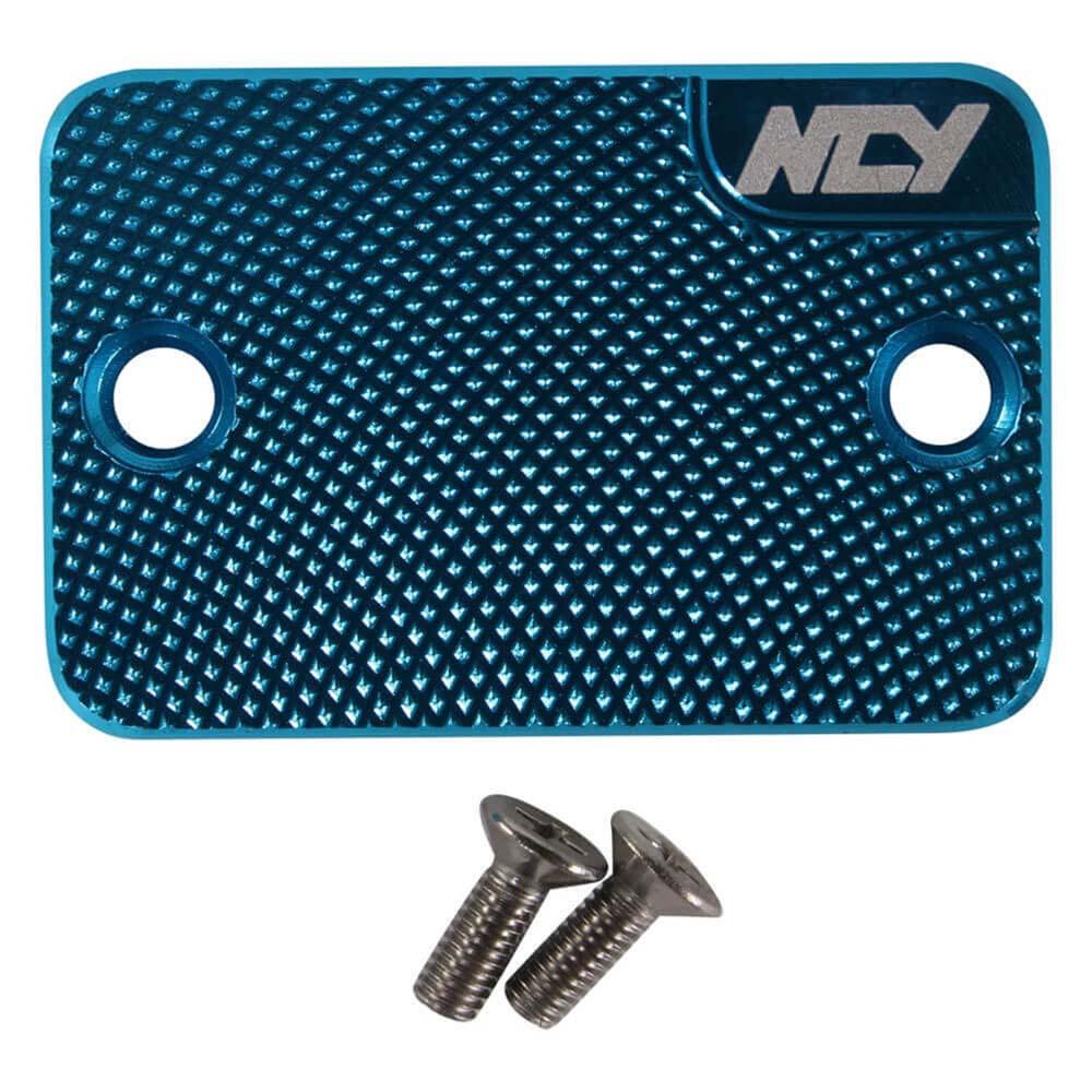 NCY Master Cylinder Cover (Blue); Genuine, Yamaha