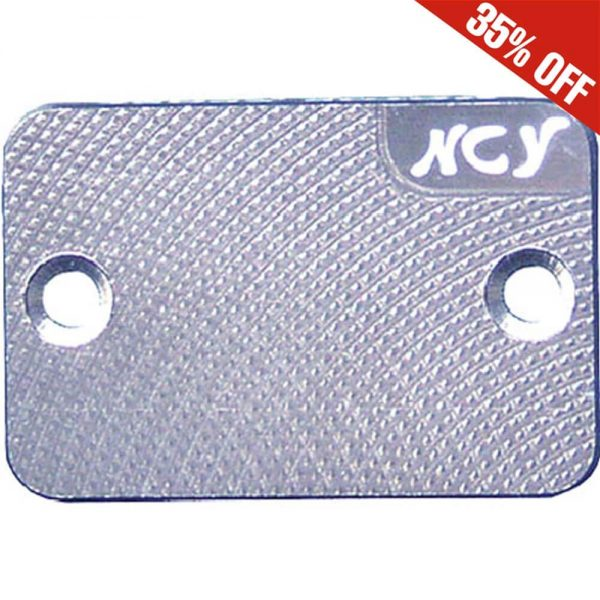 NCY Master Cylinder Cover (Silver); Genuine, Yamaha