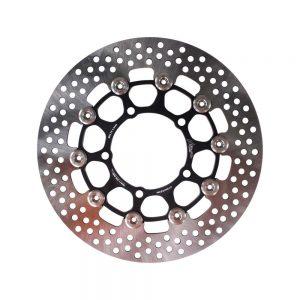 NCY Floated Brake Disc (Black, Stainless, 260mm); Zuma 125