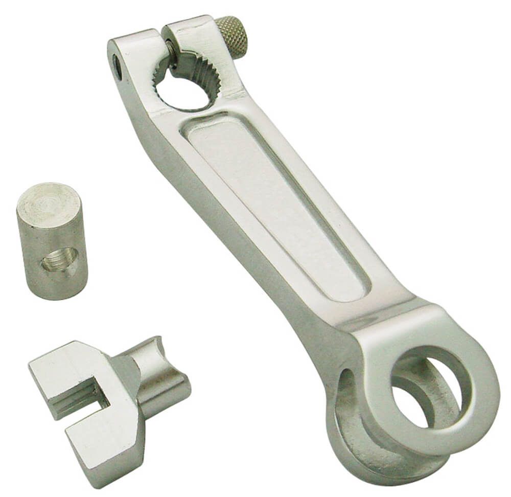 NCY Rear Brake Arm (Silver);  Zuma 125