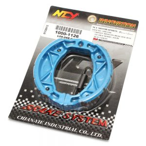 NCY Brake Shoes (Blue); QMB139, Minarelli