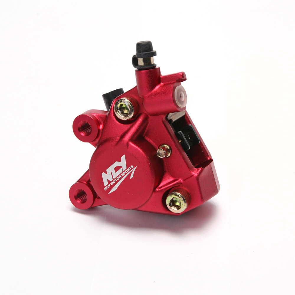 NCY Forged Brake Caliper (Red); Zuma 50, Buddy 50 , RH50