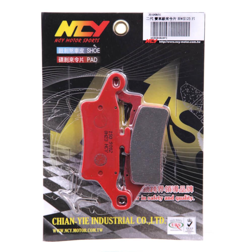 NCY Racing Brake Pads (Front);  Zuma 125