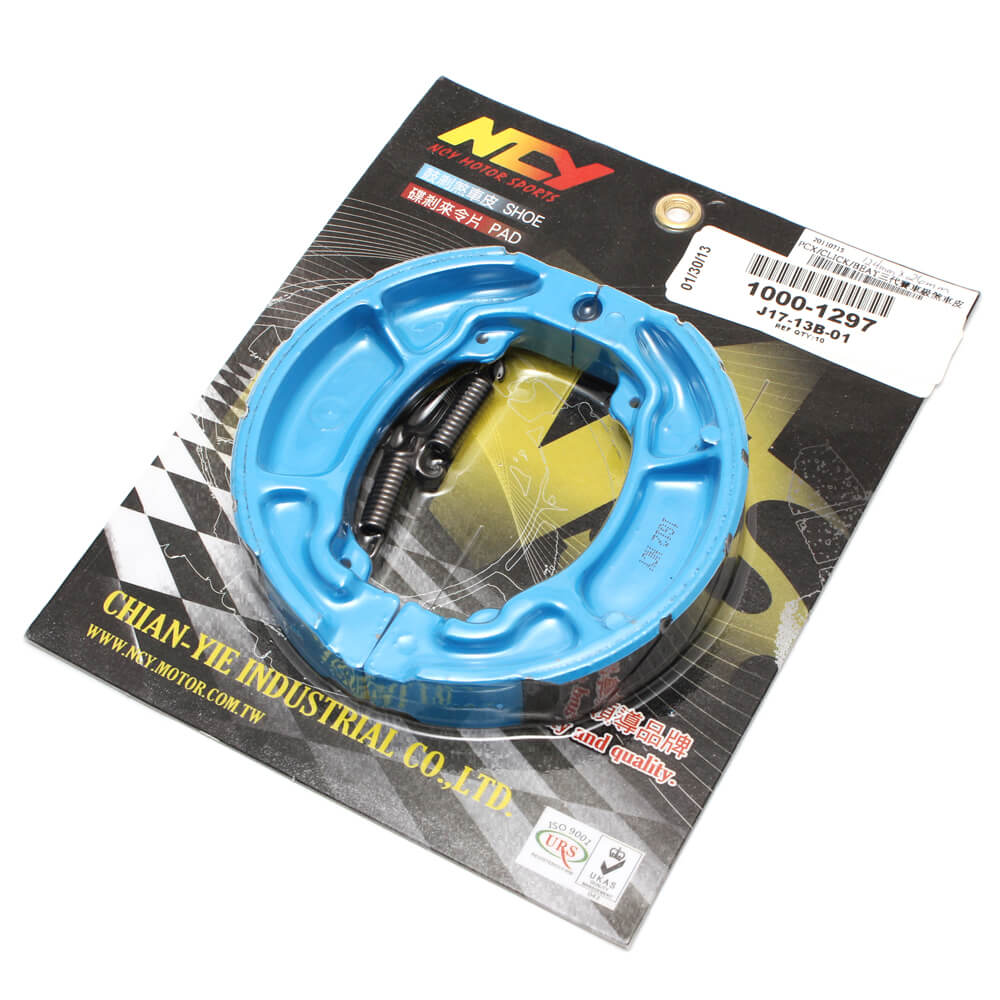 NCY Brake Shoes (Blue); Honda PCX