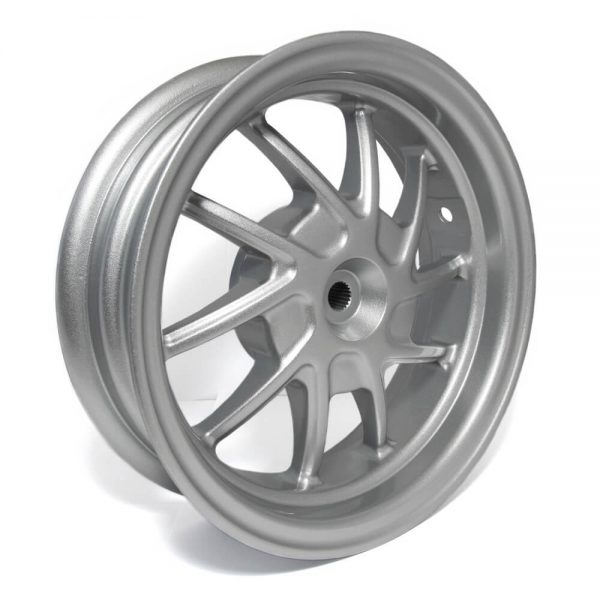 NCY Rear Wheel (Silver), Honda Ruckus