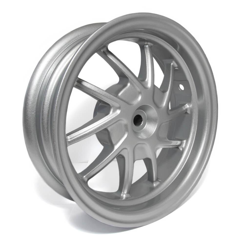 NCY Rear Wheel (Silver), Honda Ruckus
