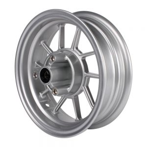 NCY Front End Kit Rim Replacement (Silver, 10 Spoke)