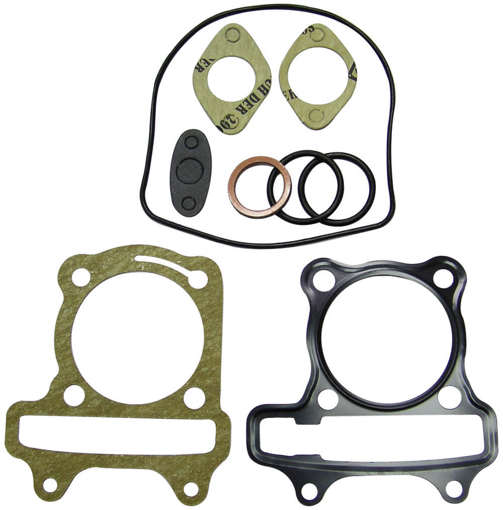 NCY Cylinder Gasket Set (62 mm ); Genuine, GY6