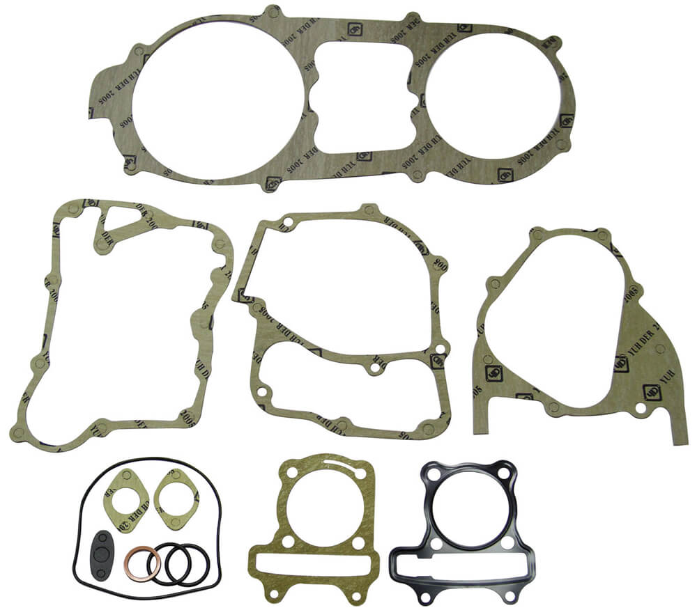 NCY Engine Gasket Set (59 mm); Genuine, GY6