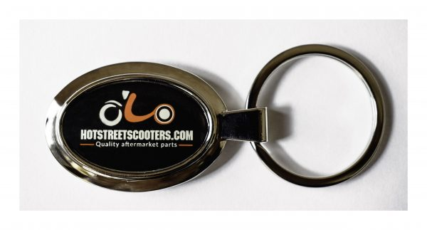 Hot Street Scooters keychain, key fob, key ring thingy