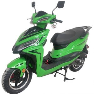 Gator-F3 Green 50cc Gas Scooter